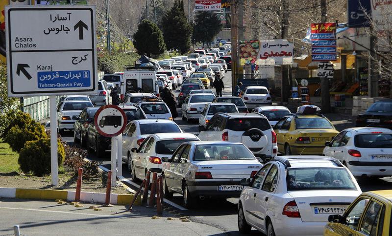 آخرین وضعیت جوی و ترافیکی جاده ها در ۱۰ اسفند اعلام شد