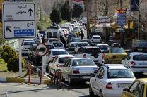ثبت بیش از ۱۱ میلیون تردد خودرو در جادههای مازندران
