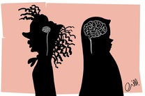 مسموم کردن روح زنان قویترین راه برای ضربه به جامعه است