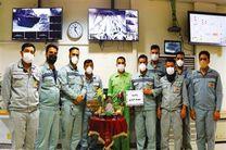 بیش از 250 اتاق کنترل در نواحی تولیدی و پشتیبانی در کنار هفت سین نوروز به استقبال بهار رفتند