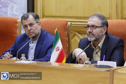 دیدار وزیر کشور و محمد بدر معاون وزیر کشور عراق