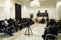 دیدار طلاب آذربایجان شرقی با تولیت آستان حضرت معصومه(س)