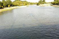 ورود آب رودخانه زاینده رود به مبارکه