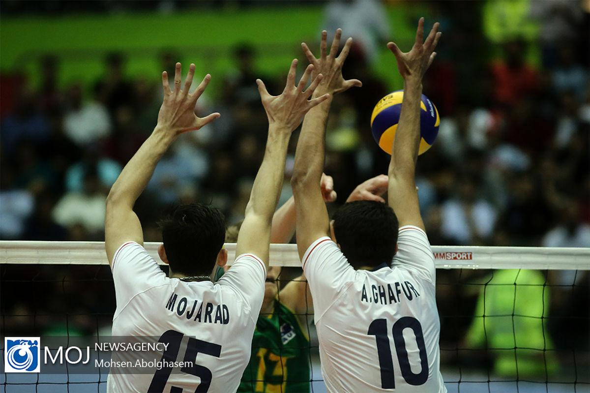 ساعت بازی والیبال ایران و هلند مشخص شد