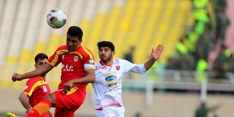 نتیجه بازی پرسپولیس مقابل فولاد/ اولین باخت پرسپولیس در لیگ هجدهم
