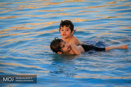 حوض ۷۰ ساله میدان نقش جهان اصفهان
