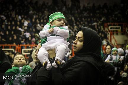 مراسم همایش شیرخوارگان حسینی در کرمانشاه