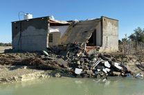 استقرار نمایندگان بنیاد مسکن و جهاد کشاورزی در مناطق سیل زده هرمزگان