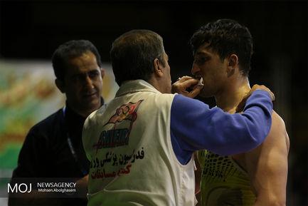 مرحله اول رقابت های انتخابی تیم ملی کشتی