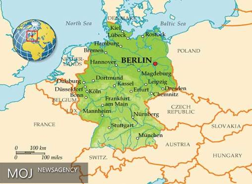 ۵۰۰ متر مربع از خاک جمهوری چک از آن آلمان است