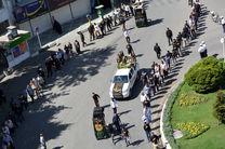 پیکر مطهر دو شهید گمنام در کرمانشاه تشییع شد