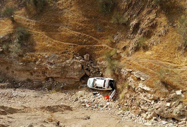 سقوط خودرو در جاده کوه گنو یک کشته و سه زخمی برجای گذاشت
