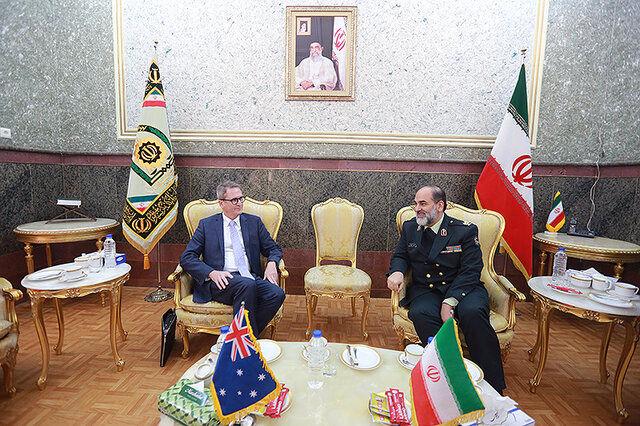 تسهیل همکاری های آموزشی و عملیاتی فیمابین پلیس ایران و استرالیا