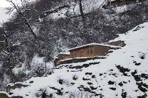 سفید پوش شدن کوهستان های گیلان در پائیز