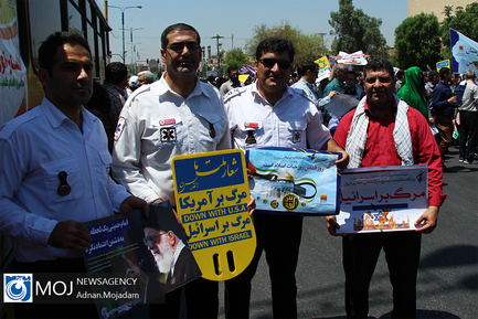 راهپیمایی روز جهانی قدس در اهواز