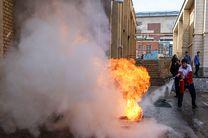 خودروهای آتشنشانی قم در چهارشنبه سوری سال گذشته دچار آسیب جدی شدند