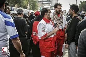 بیش از 170 امدادگر هلال احمر اصفهان به زائران اربعین خدمت رسانی می کنند