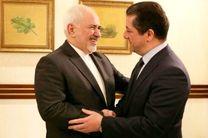 ظریف با مشاور شورای امنیت اقلیم کردستان دیدار کرد