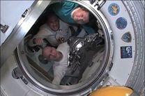 ۳ فضانورد راهی ایستگاه بین المللی فضایی شدند