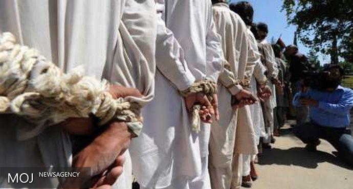 بازداشت بیش از ۵۰ تبعه پاکستانی هنگام ورود غیرقانونی به ایران