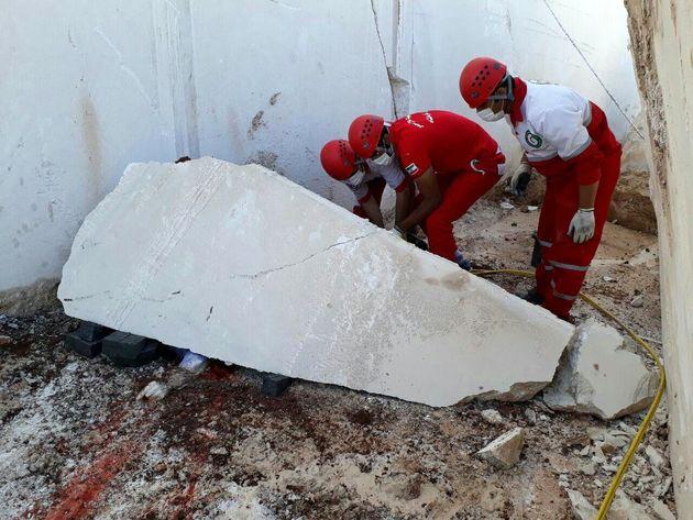 مرگ کارگر معدن در اثر سقوط سنگ به وزن دو تن در هرسین