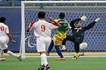 تیم فوتبال هفتنفره ایران با درخشش بازیکنان کرمانشاهی بر بام جهان ایستاد