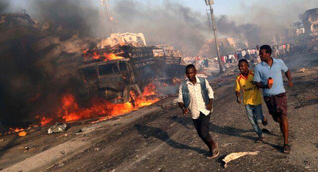 وقوع دو انفجار انتحاری در سومالی