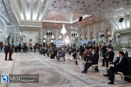 تجدید میثاق رییس مجلس با آرمان های امام راحل و شهیدان