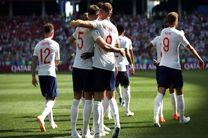 نتیجه بازی انگلیس و پاناما در جام جهانی/ برد پرگل انگلیس مقابل پاناما
