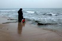حضور قابل تحسین نیروهای سازمان امداد و نجات هلال احمر در سواحل دریای خزر