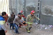 نجات معجزهآسای کارگر پس از سقوط در چاه 20 متری + تصاویر