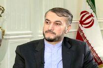 ایران از هر اقدامی که به تقویت حاکمیت ملی سوریه منجر شود استقبال می کند