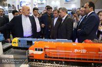 بازدید وزیر راه و شهرسازی از نمایشگاه بین المللی حمل و نقل ریلی