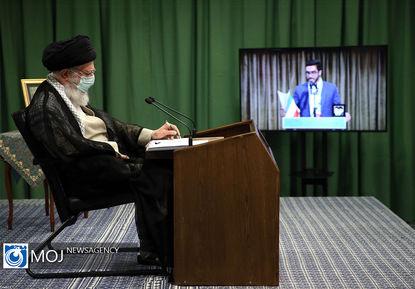 نشست تصویری تشکل های دانشجویی با مقام معظم رهبری