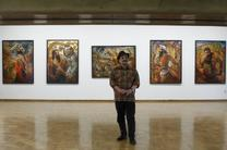 نمایشگاه آثار نقاش فیلم کمال الملک در فرهنگسرای نیاوران/ طراحی جمشید مشایخی از همسرش به نمایش در می آید