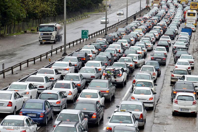 آخرین وضعیت جوی و ترافیکی جاده ها در ۲۱ اردیبهشت ۹۹