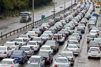 آخرین وضعیت ترافیکی جاده ها/ بارش باران در 9 استان کشور
