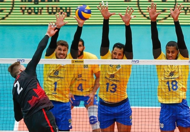تیم والیبال برزیل به مسابقات جهانی راه یافت