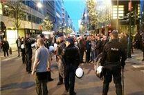 چندین نفر در درگیری مقابل سفارت ترکیه در بروکسل مجروح شدند