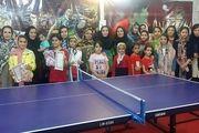 معرفی برترین های رقابت های تنیس روی میز در شهرضا