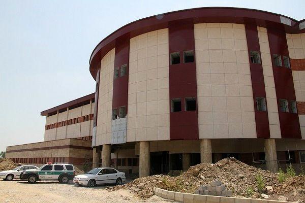 پیشرفت ۸۷ در صدی  بیمارستان ۱۴۰ تختخوابی شهید حسین پور لنگرود