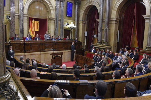 جدایی پارلمان کاتالونیا از اسپانیا تصویب شد
