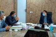 سالن فرهنگی مزار شهدا پارس آباد تکمیل می شود