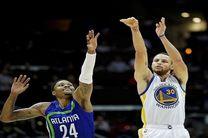 پیروزی گلدن استیت در NBA با 17 پرتاب 3 امتیازی