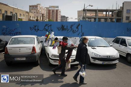 تهران+در+اولین+روز+پس+از+اتمام+طرح+فاصله+گذاری+اجتماعی
