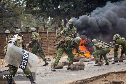 اعتراضات به انتخابات در کنیا