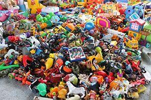 کشف بیش از یک میلیارد ریال اسباب بازی قاچاق در نایین