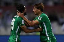 نتیجه بازی عراق و یمن/ شکست یمن مقابل عراق