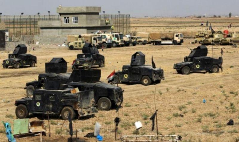 انهدام ۱۰ مقر و مخفیگاه داعش توسط الحشد الشعبی