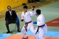 تیم های صعود کننده به مرحله نیمه نهایی مسابقات کاراته قهرمانی استان گیلان مشخص شدند